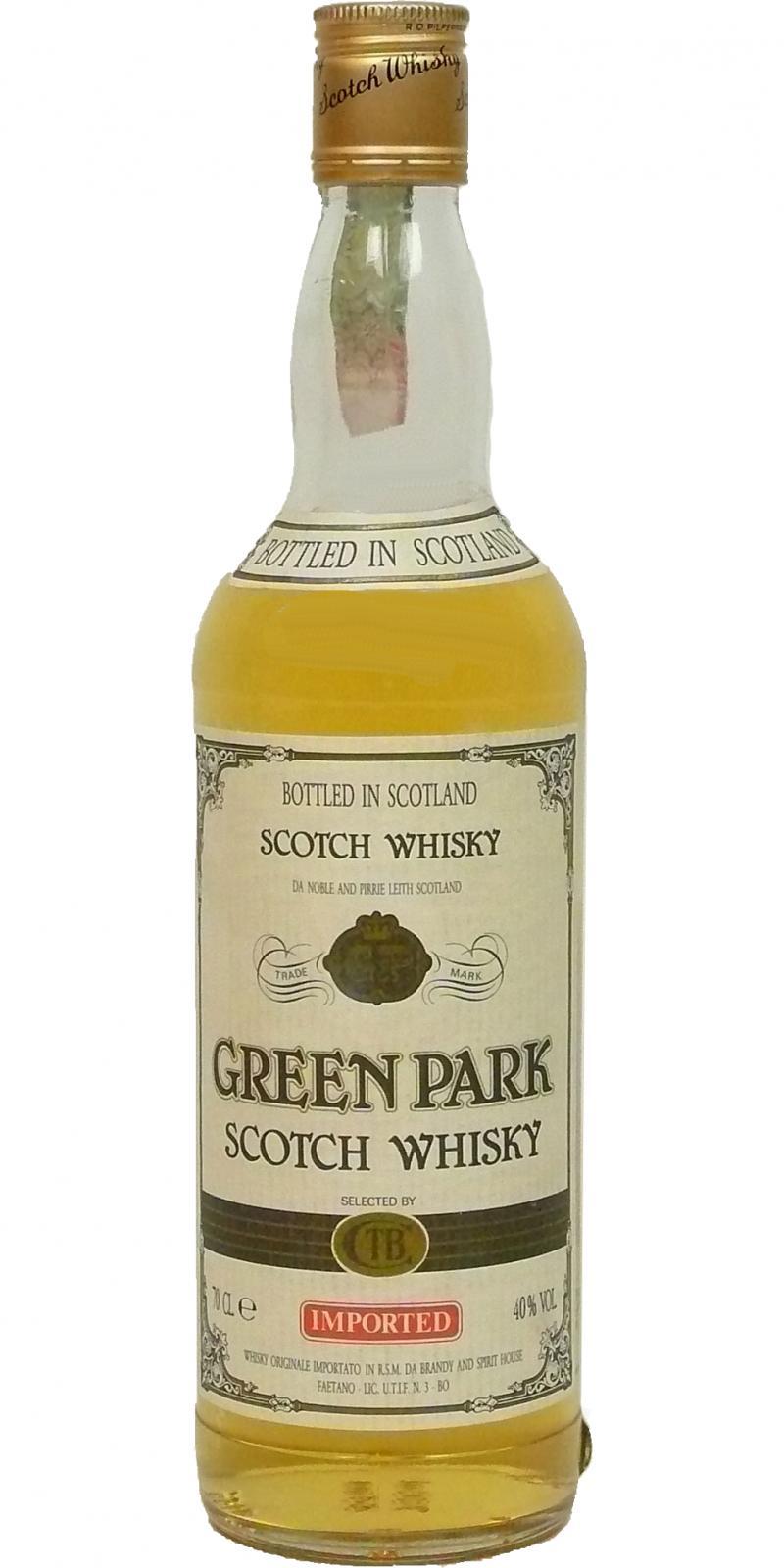 Green Park Scotch Whisky