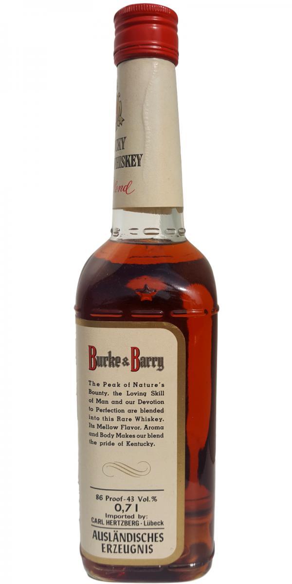 Burke & Barry Blended Whisky