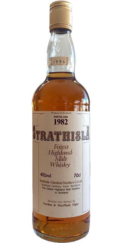 Strathisla 1982 GM
