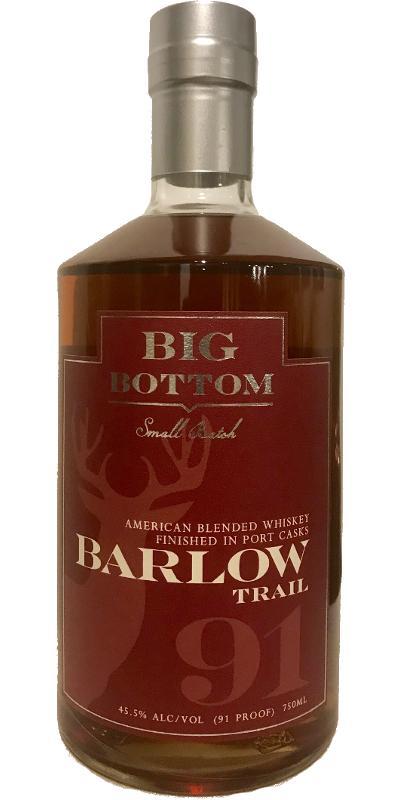 Big Bottom Barlow Trail - Port Cask