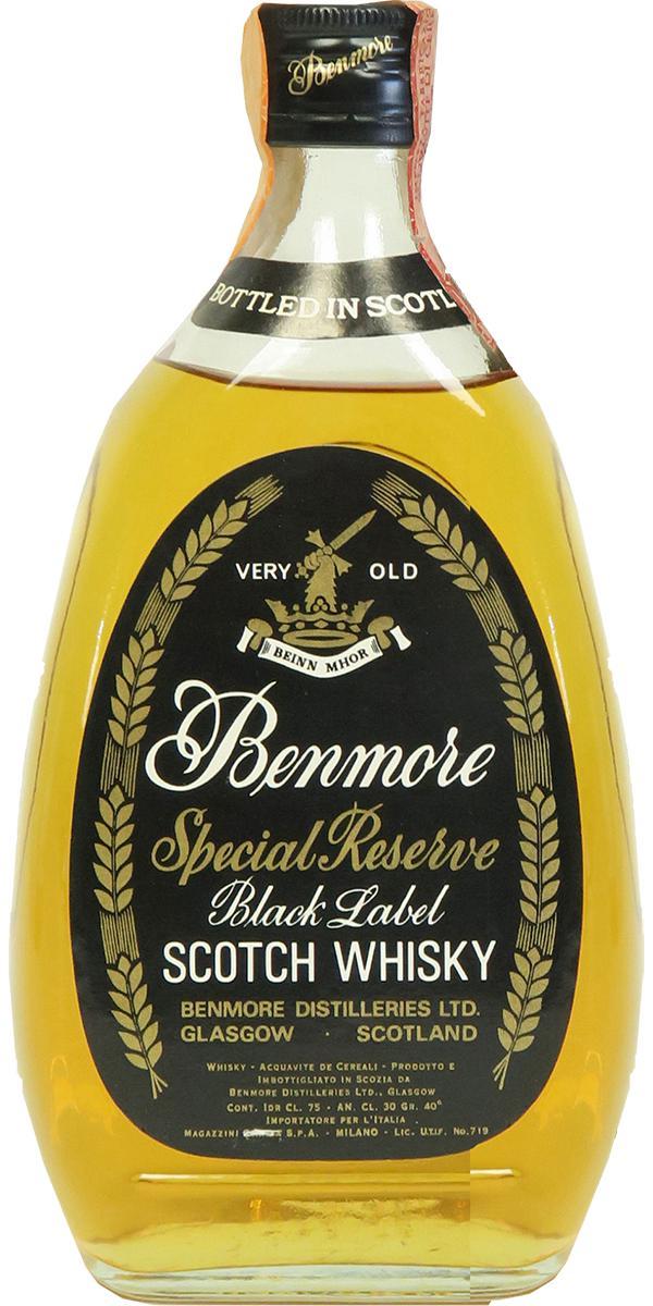 Benmore Special Reserve Scotch Whisky