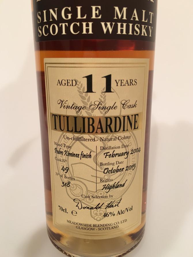Tullibardine 2004 MBl