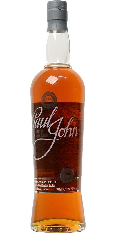 Paul John Single Cask - Peated