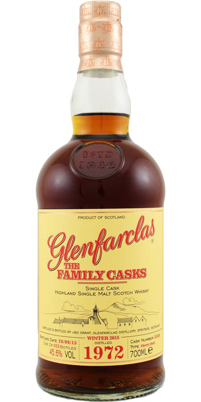 Glenfarclas 1972