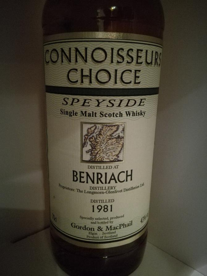 BenRiach 1981 GM