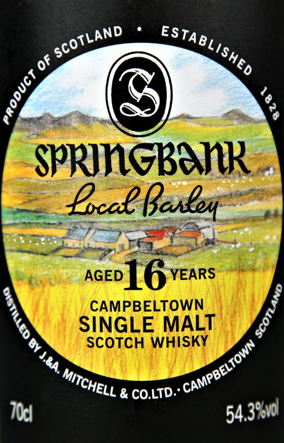 Springbank 16-year-old