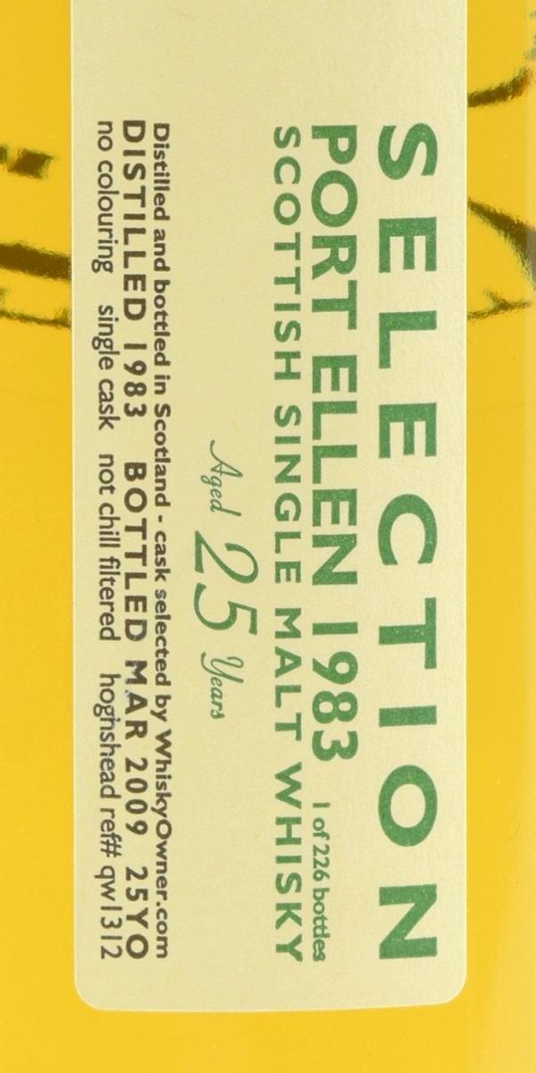 Port Ellen 1983 NCS