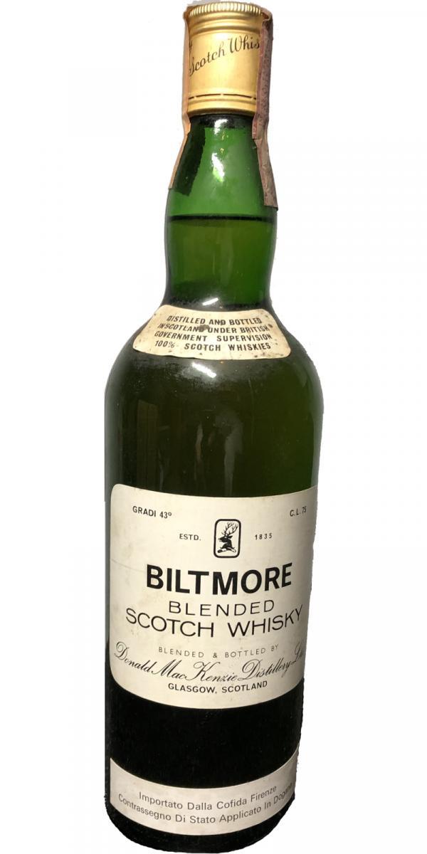 Biltmore (Scotland) Blended Scotch Whisky