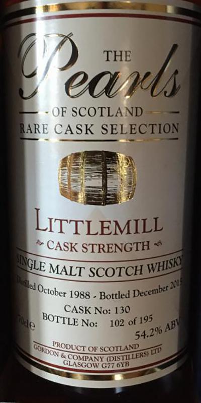 Littlemill 1988 G&C