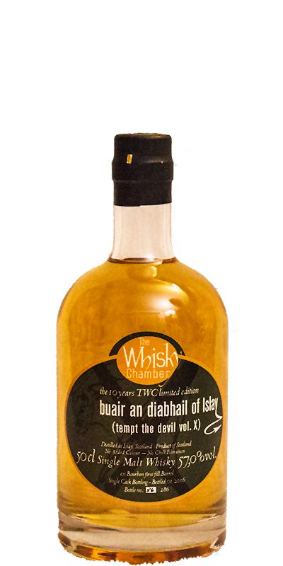 buair an diabhail of Islay tempt the devil