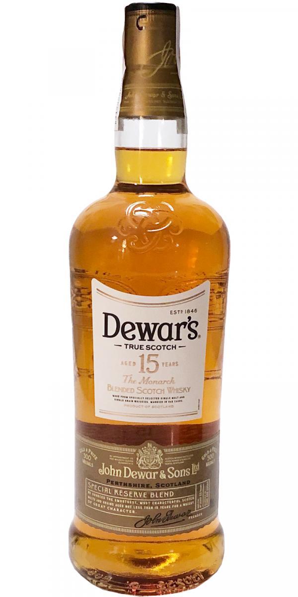 Dewar's 15-year-old