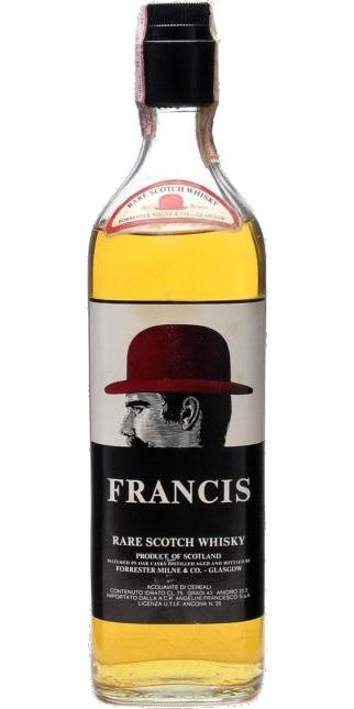 Francis Rare Scotch Whisky