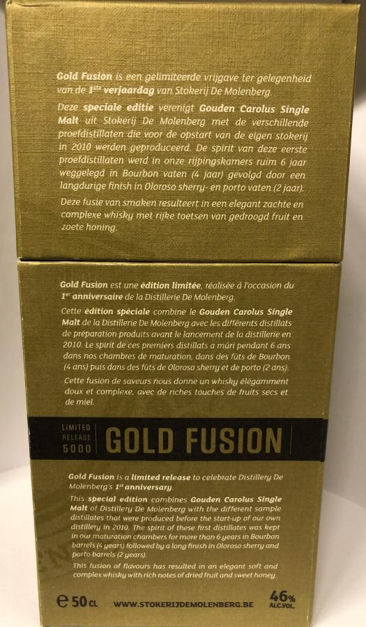 Stokerij de Molenberg Gold Fusion