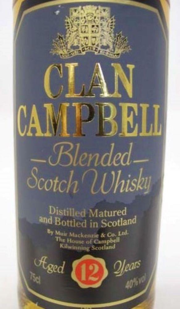 Clan Campbell 12-year-old