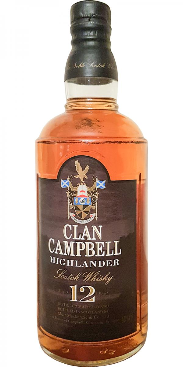 Clan Campbell 12-year old MM&C