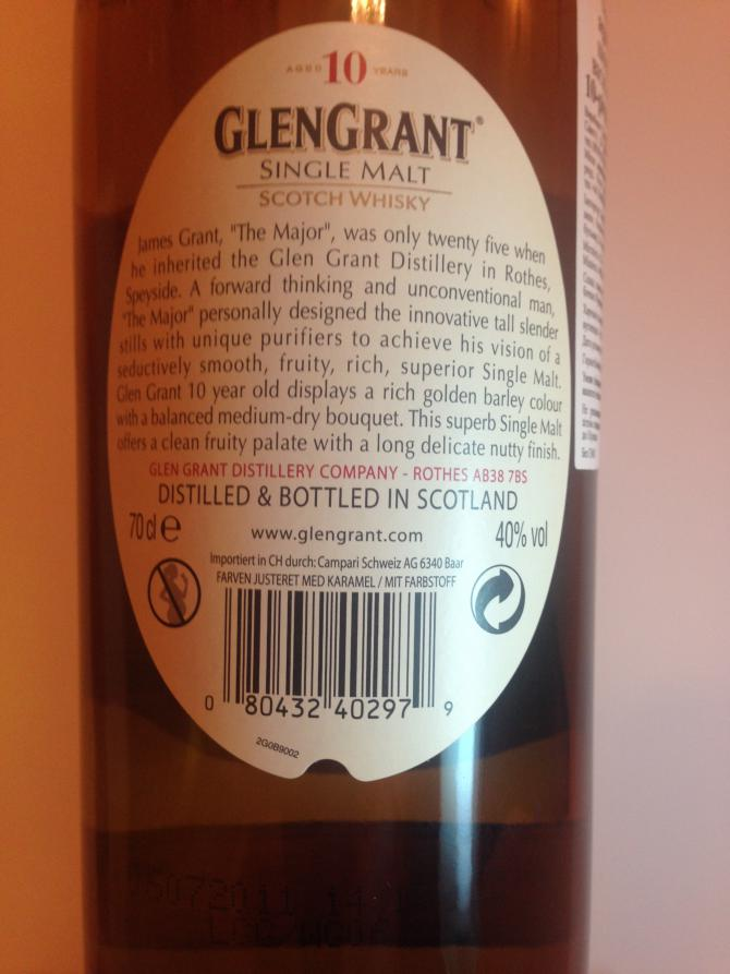 Glen Grant 10-year-old