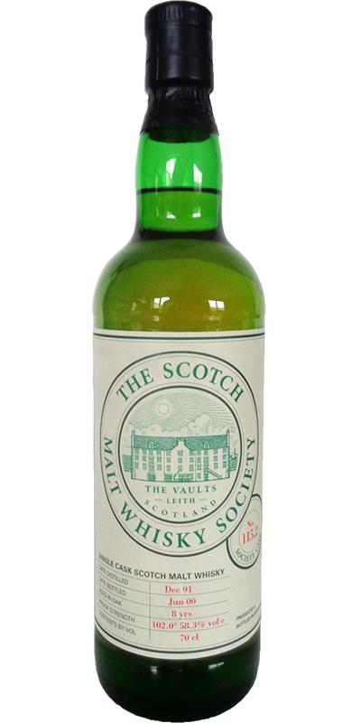An Cnoc 1991 SMWS 115.2