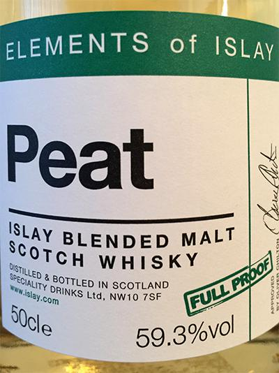 Peat Islay Blended Malt Scotch Whisky SMS