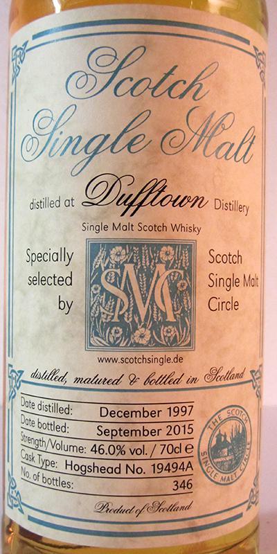 Dufftown 1997 MC