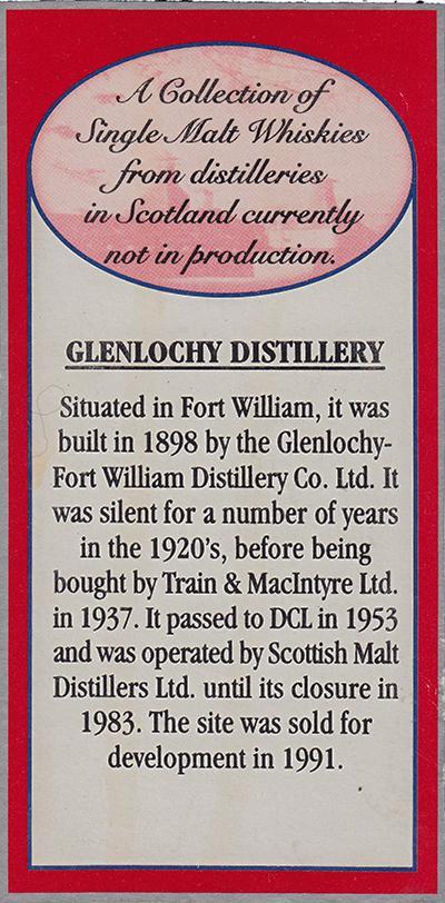 Glenlochy 1965 SV