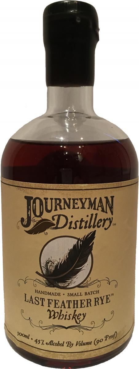 Journeyman Distillery Last Feather Rye