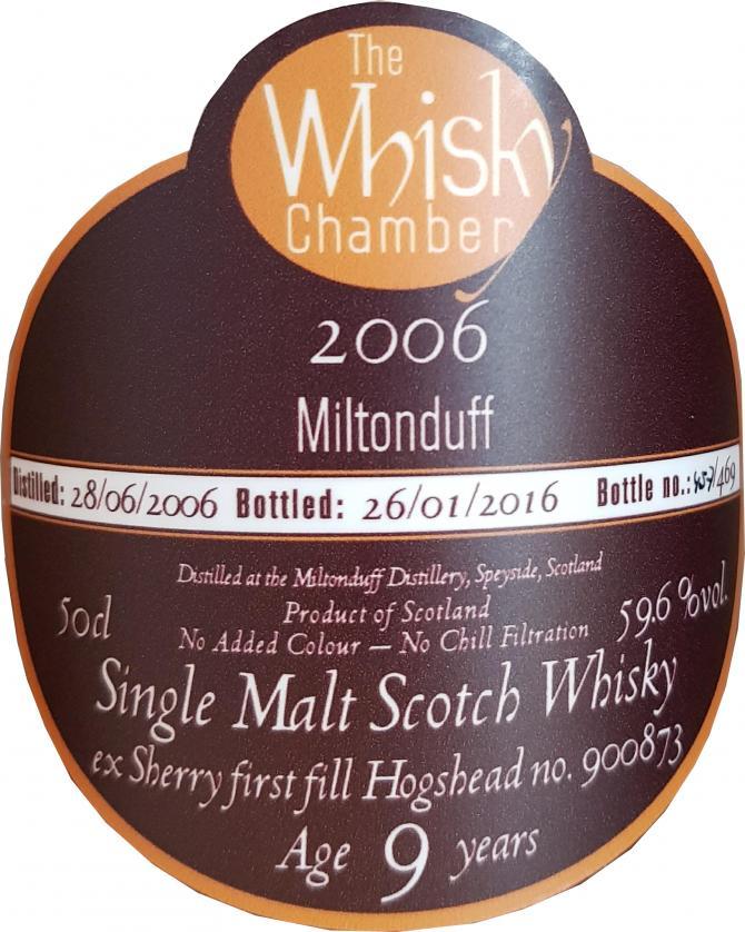 Miltonduff 2006 WCh