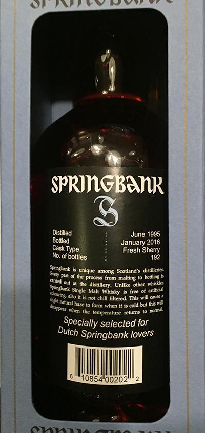 Springbank 20-year-old