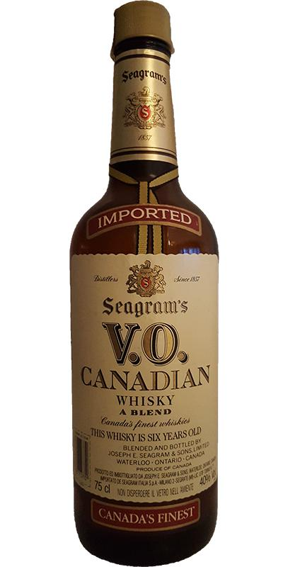 Seagram's V.O. Canadian