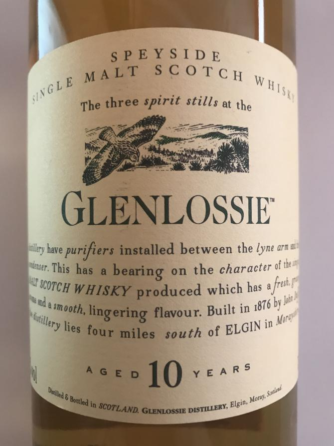 Glenlossie 10-year-old