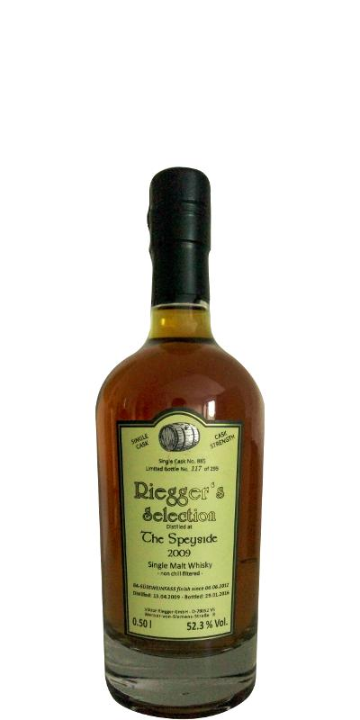 Speyside Distillery 2009 RS