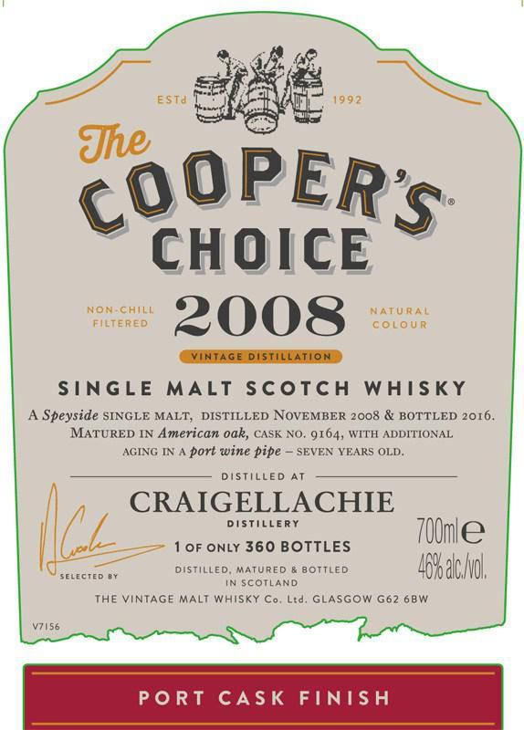 Craigellachie 2008 CC