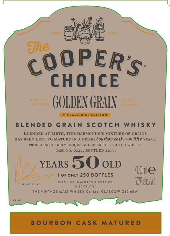 Golden Grain 50-year-old CC