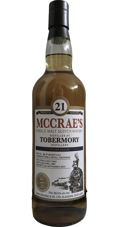Tobermory 1994 JMC