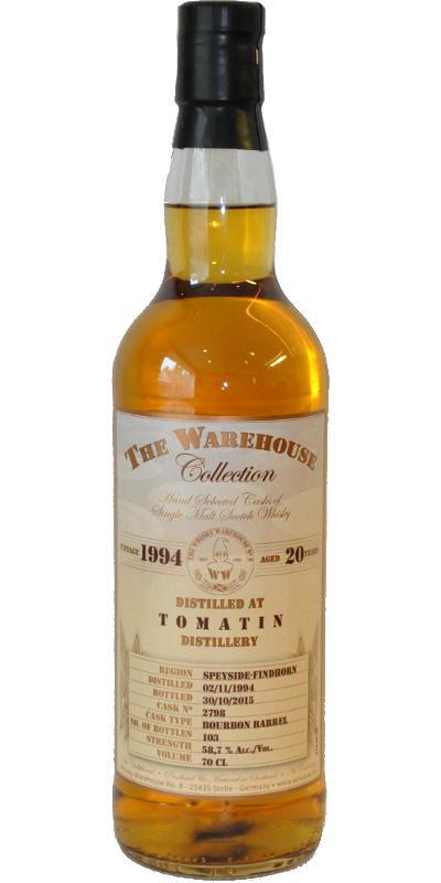 Tomatin 1994 WW8