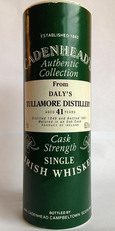 Tullamore Dew 1949 CA