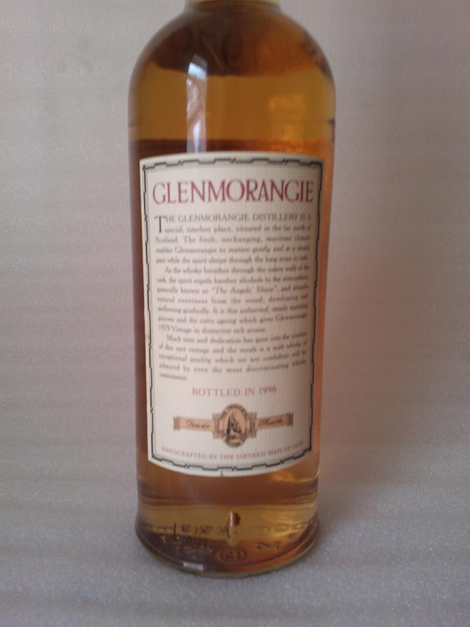 Glenmorangie 1979