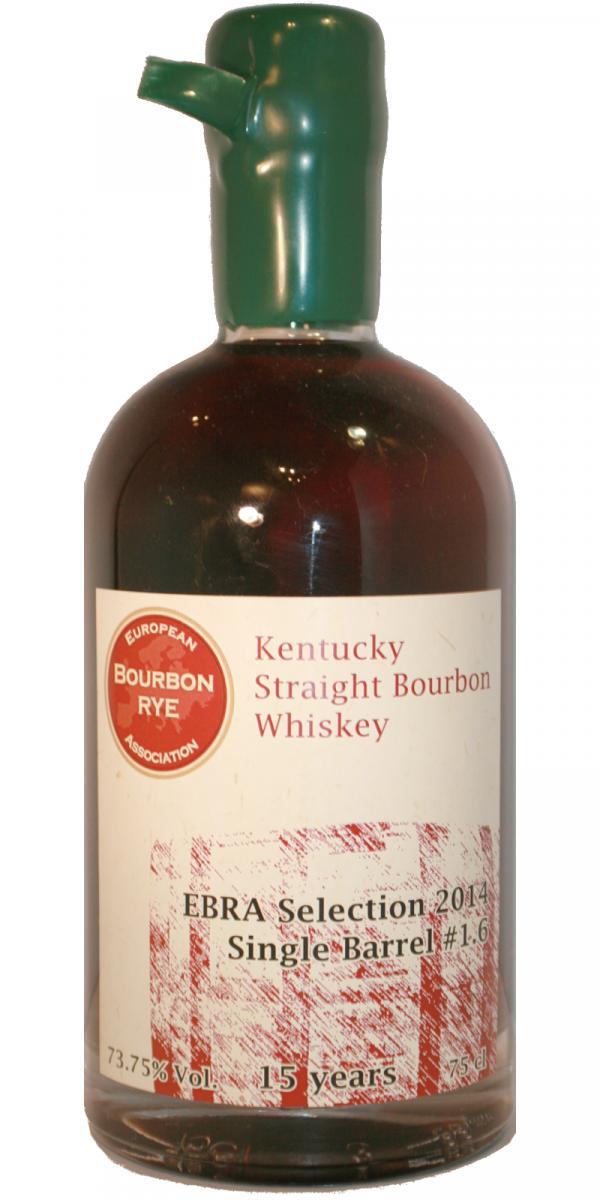 Straight Bourbon Whiskey 15-year-old EBRA