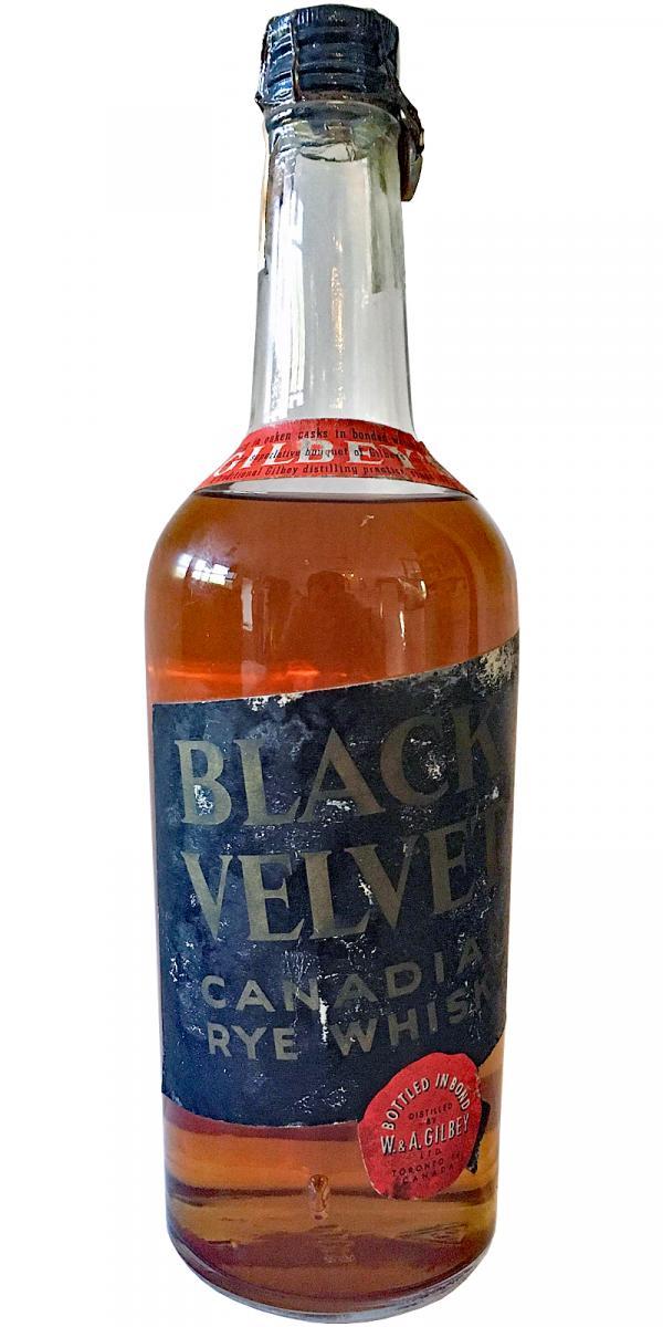 Black Velvet Canadian Rye Whisky