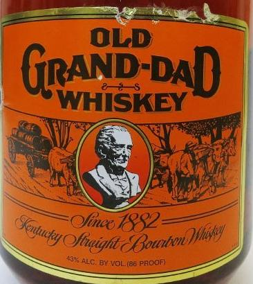 Old Grand-Dad Whiskey