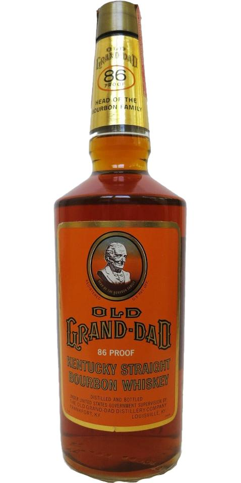 Old Grand-Dad Kentucky Straight Bourbon Whiskey