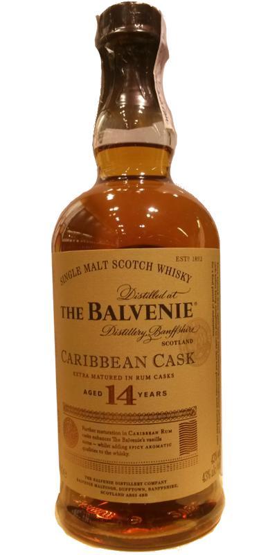 a balvenie karib cask maláta whisky