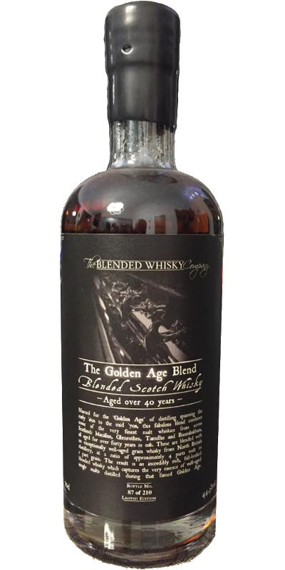 The Golden Age Blend 40-year-old BlWC