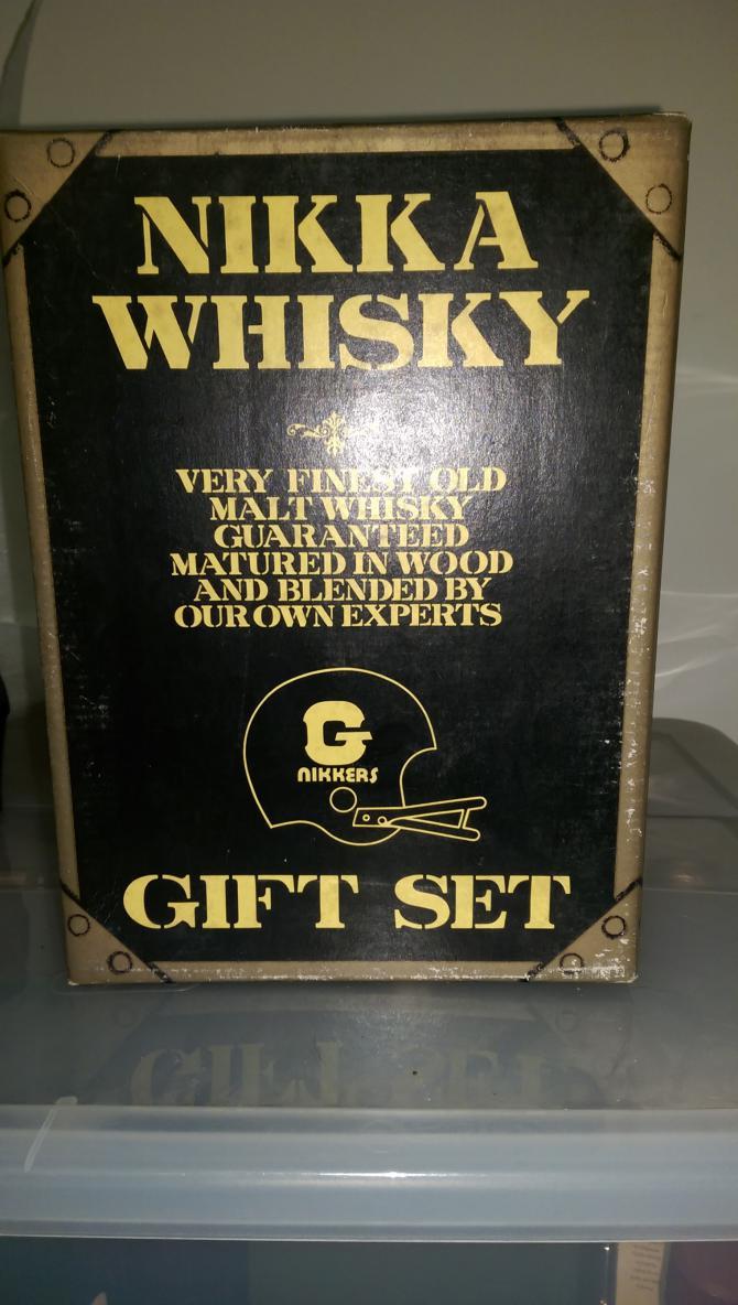 Nikka G&G Nikkers Gift Set