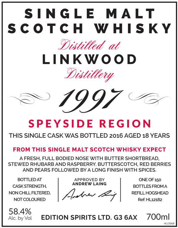 Linkwood 1997 ED