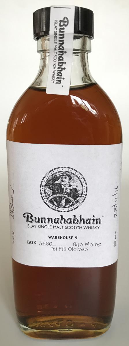 Bunnahabhain 08-year-old Mòine