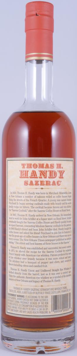 Thomas H. Handy Sazerac 2009