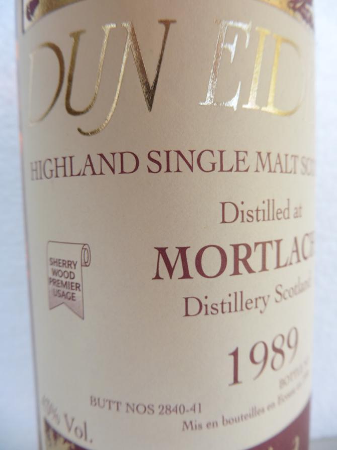 Mortlach 1989 DE