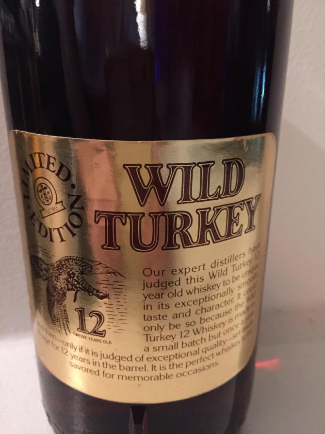 Wild Turkey 12-year-old