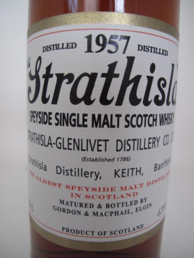 Strathisla 1957 GM