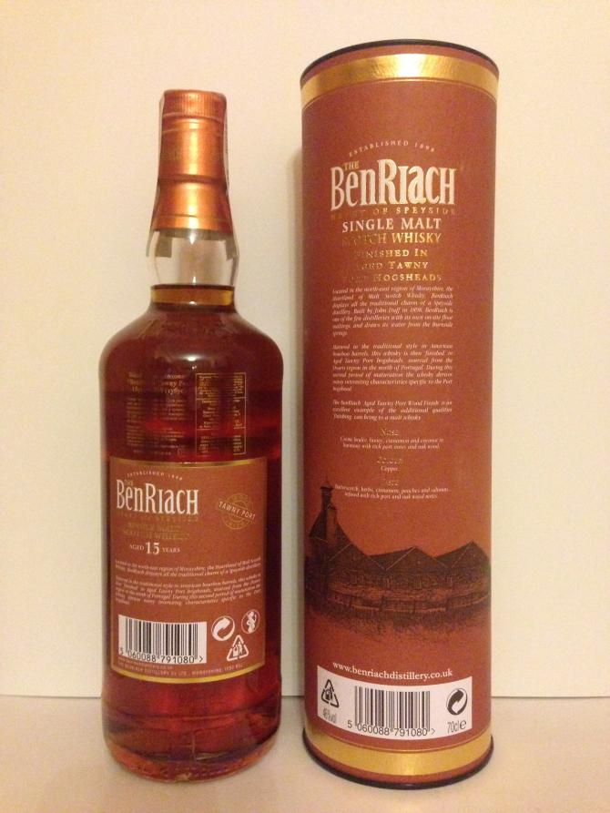 BenRiach 15-year-old Tawny Port